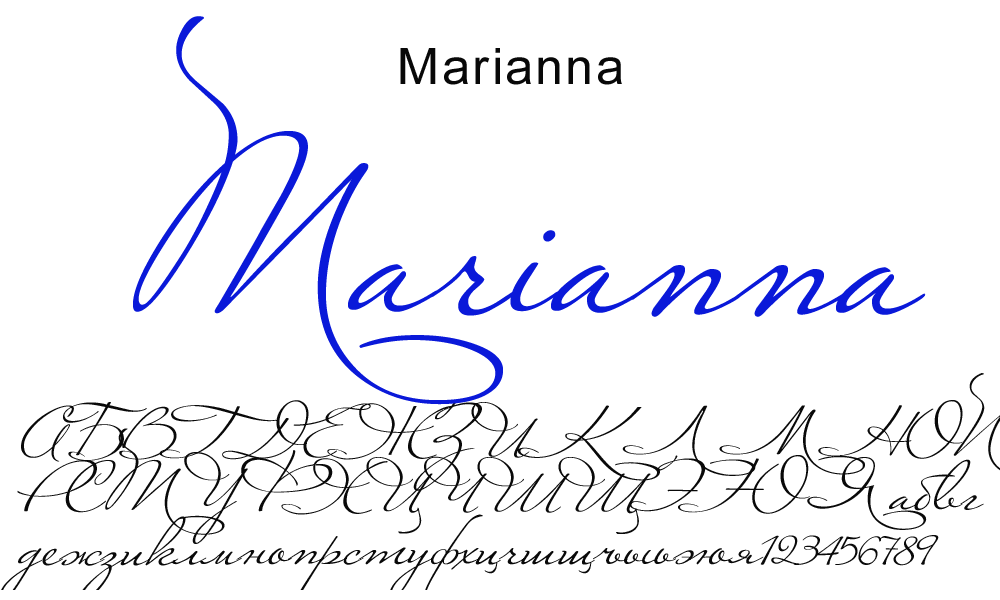 Marianna Font Download